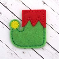 Elf Shoes Felt Stitchies