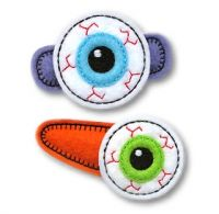Eyeball Felt Stitchies
