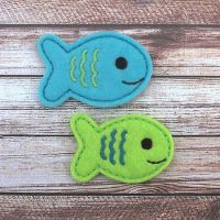 Fish 1 Felt Stitchies
