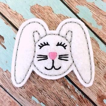 Floppy Bunny Felt Stitchies