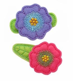 Flower Bloom Felt Stitchies