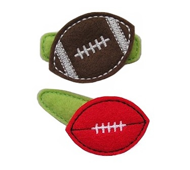 Football Felt Stitchies