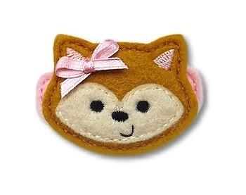 Fox Felt Stitchies