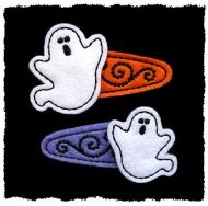 Scary Ghost Felt Stitchies