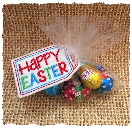 Happy Easter Treat Bag Topper