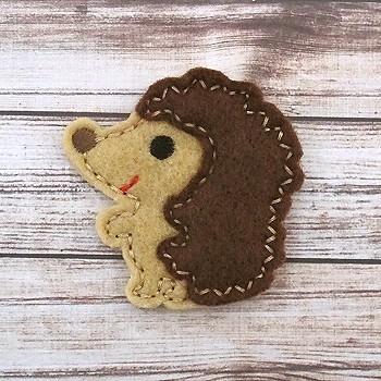 Hedgehog Felt Stitchies