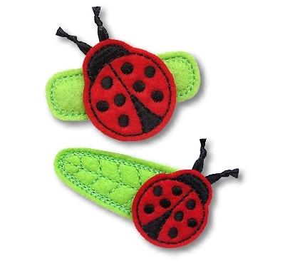 Ladybug Felt Stitchies