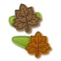 Leaf Felt Stitchies