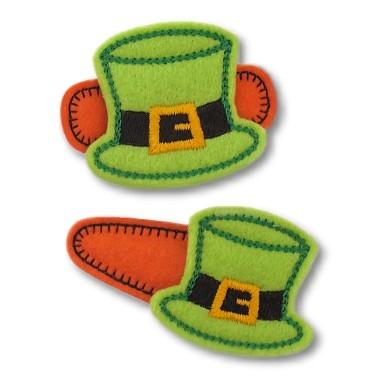 Leprechaun Hat Felt Stitchies