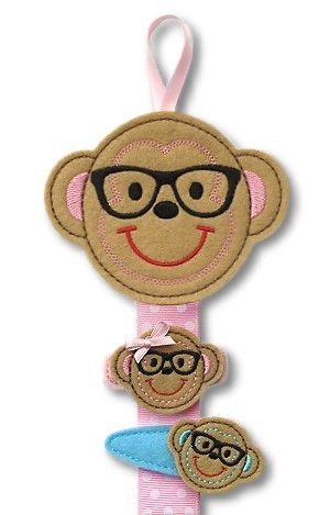 Nerd Monkey Clippie Keeper