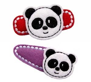 Panda Felt Stitchies