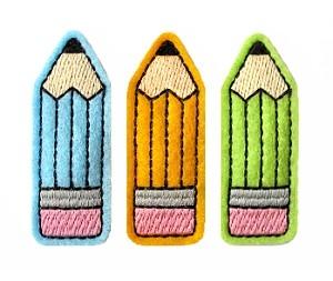 Pencil Clip Cover Felt Stitchies