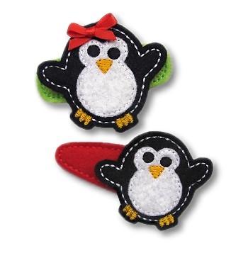 Chubby Penguin Felt Stitchies