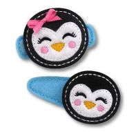 Girly Penguin Felt Stitchies