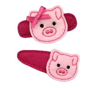 Pig Felt Stitchies