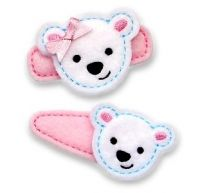 Polar Bear Felt Stitchies