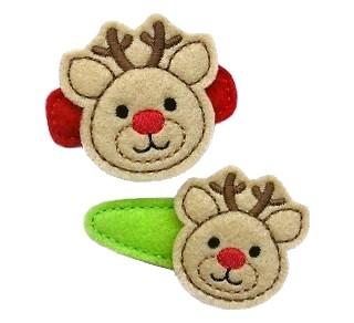 Reindeer Felt Stitchies