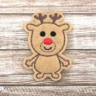 Reindeer Buddy Felt Stitchies
