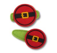 Santa Belt Felt Stitchies