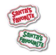 Santa's Favourite Clip Cover Felt Stitchies