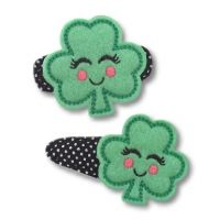 Girly Shamrock Felt Stitchies