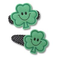 Smiley Shamrock Felt Stitchies