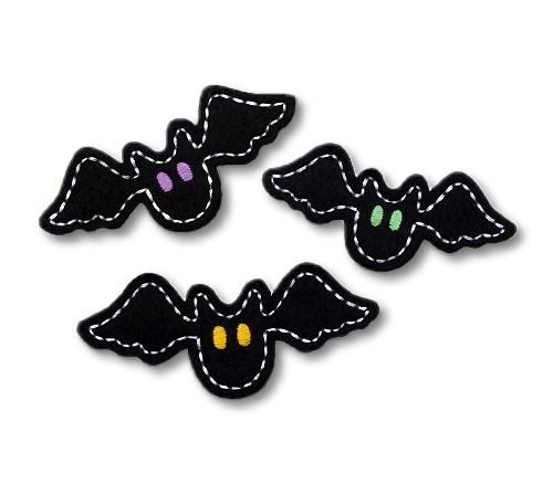 Spooky Bat Felt Stitchies