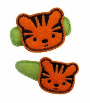 Tiger Felt Stitchies