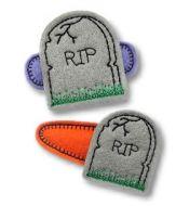 Tombstone Felt Stitchies