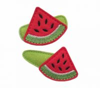 Watermelon Wedge Felt Stitchies