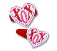 XOX Heart Felt Stitchies