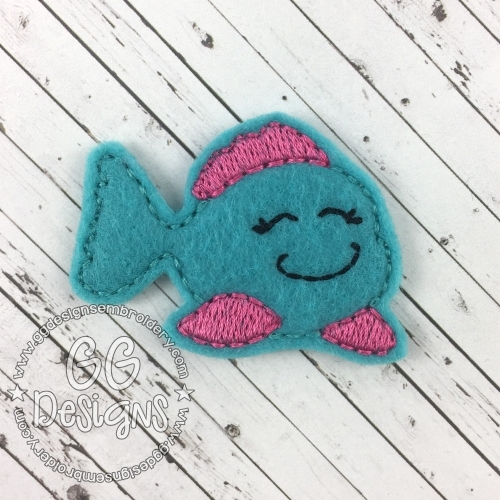 Fish 2 Felt Stitchies