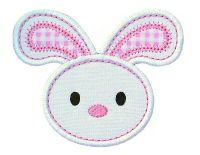 Floppy Bunny Applique