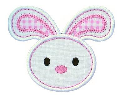 Floppy Bunny Applique