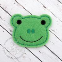 Frog 2 Felt Stitchies