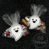 Ghost Treat Bag Topper