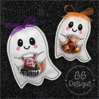 Ghost Peekaboo Treat Bag