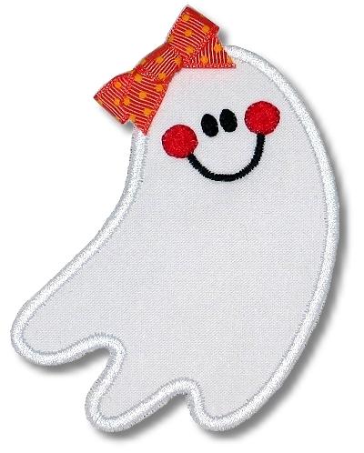 Happy Ghost Applique