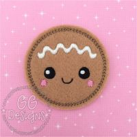 Gingerbread Baby Felt Stitchies