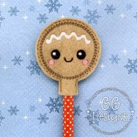 Gingerbread Baby Pencil Topper