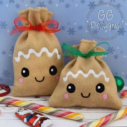 Gingerbread Baby Treat Bag