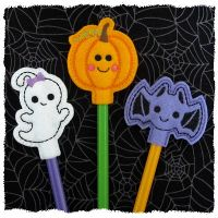 Halloween Cuties Pencil Toppers