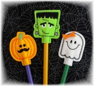 Halloween Pencil Toppers Set 1