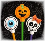 Halloween Pencil Toppers Set 3