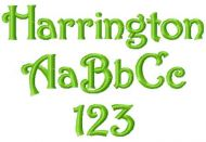 Harrington Font
