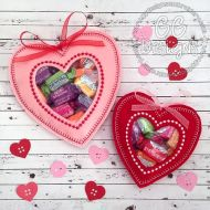 Heart Peekaboo Treat Bag