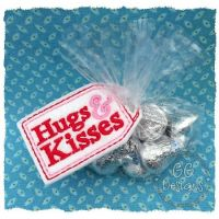 Hugs and Kisses Treat Bag Topper