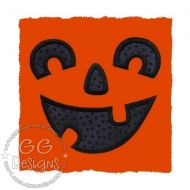 FREE Jack-o-Lantern Face Applique