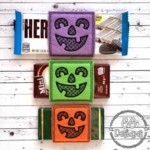 Jack O Lantern Chocolate Slider