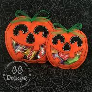 Jack-O-Lantern Peekaboo Treat Bag